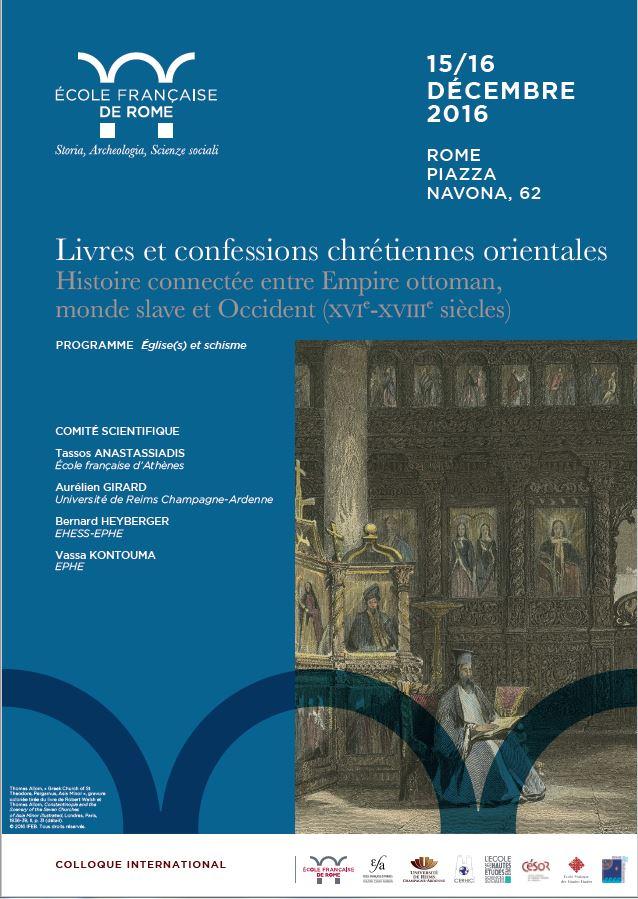 Livres Et Confessions Chretiennes Orientales Histoire Connectee